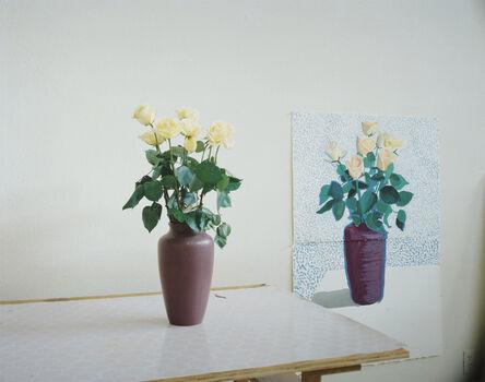 David Hockney, 'Roses for Mother', 1995
