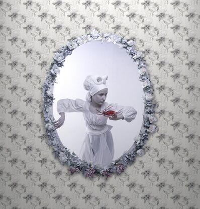Virginia Panichi, 'Nobildonna in bianco con aragosta'