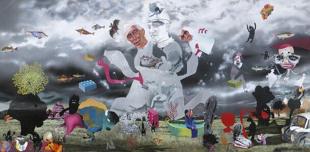 Raghava K K, 'Redrawing The Map', 2012