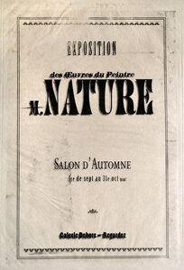 Anne Beresford, 'Salon d'Automne (Nature) ', ca. 2016