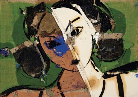 Manolo Valdés, 'Odalisque au visage blanc et orange', 2009