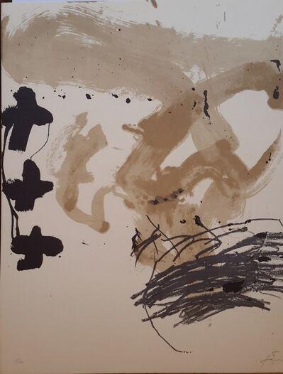 Antoni Tàpies, 'Por Chile', 1983