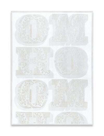 Megan Francis Sullivan, ''HOMO (white series) no. III', 2013