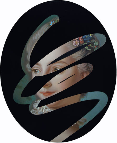Lino Lago, 'Fake Abstract (Boucher)', 2020