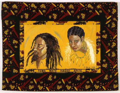 Emma Amos, 'Marley and Josephine', 2000