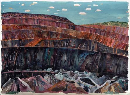 Victor Majzner, 'Blast Holes, Tom Price Mine', 1989