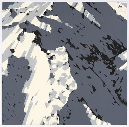 Gerhard Richter, 'Schweizer Alpen I, Motiv A2', 1969