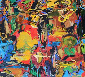 David Alexander, 'Boogie Woogie Checker Flood', 2016
