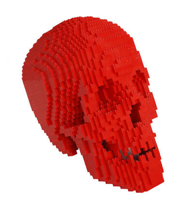 Nathan Sawaya, 'Red Skull', 2012