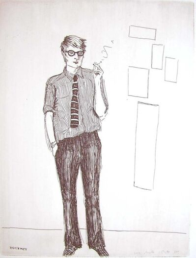 Elizabeth Peyton, 'David Hockney (from the cover of That's the Way I See It)', 2002