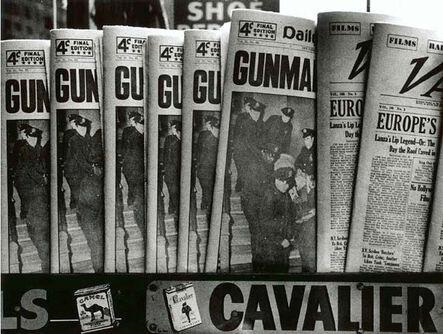 William Klein, 'Gun, Gun, Gun, New York', 1955