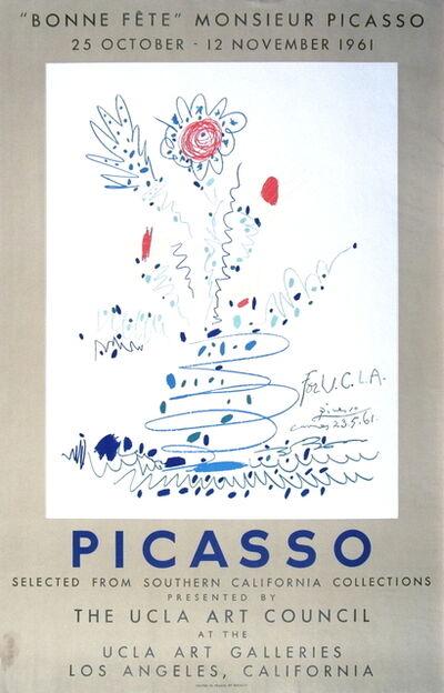 Pablo Picasso, 'Bonne Fete Monsieur Picasso', 1961