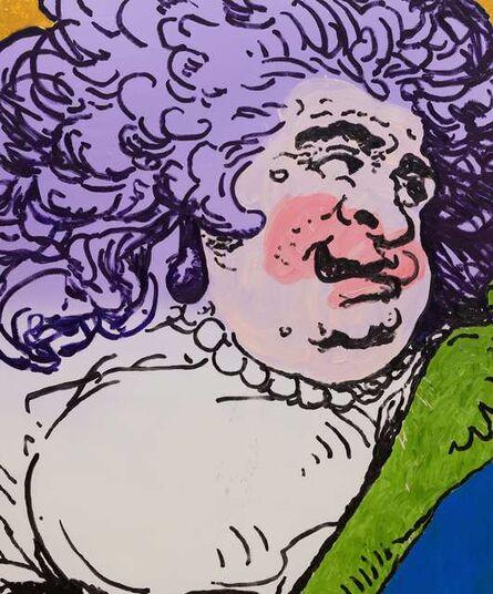 Charlie Billingham, 'Purple Rinse', 2016