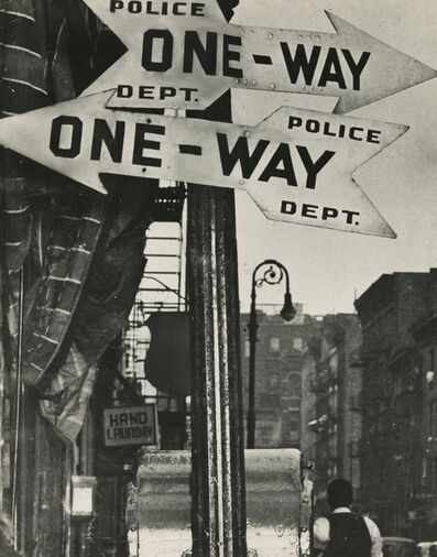 Weegee, 'Rivington & Attorney Streets, Lower East Side', 1940