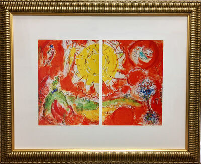 Marc Chagall, 'The Final Act Curtain', 1958