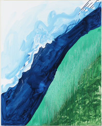 Mary Heilmann, 'Crashing Wave', 2011