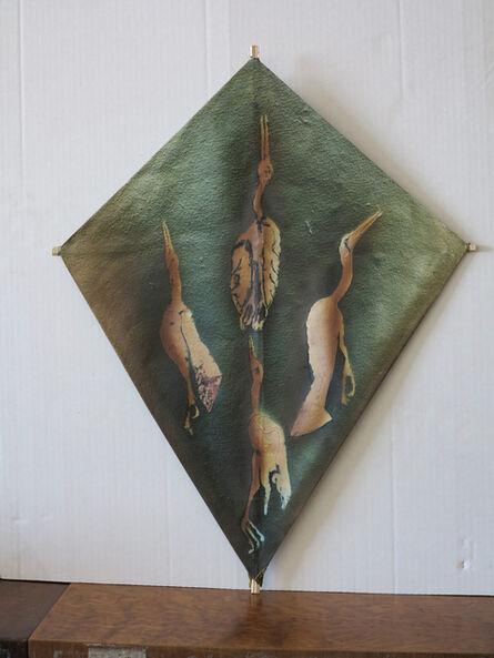 Francisco Toledo, 'Quattro cisnes', 2015