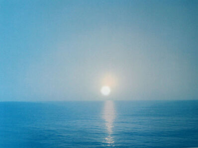 David Horvitz, 'two sunsets, viewed from the same place, by a mother and her son, some years apart', 2013