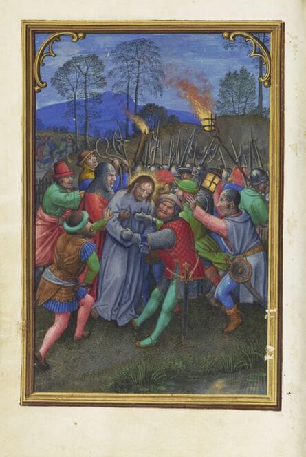 Simon Bening, 'The Flight of the Apostles', 1525-1530