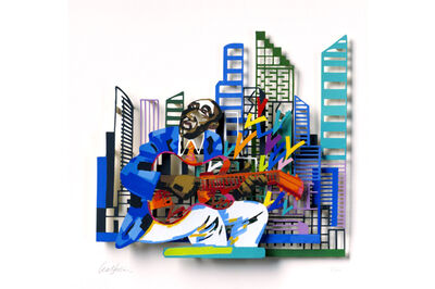 David Gerstein, 'Guitar Player - Paper Cut ', 2007