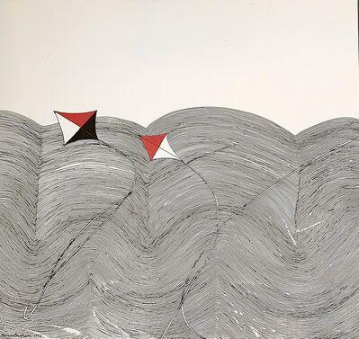 Wilhelmina Barns-Graham, 'Windblown (Two Kites)', 1976
