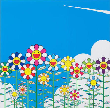 Takashi Murakami, 'Flower', 2002