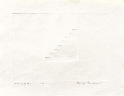 Tatsuo Kawaguchi, 'Negative Stairway Time', 2014
