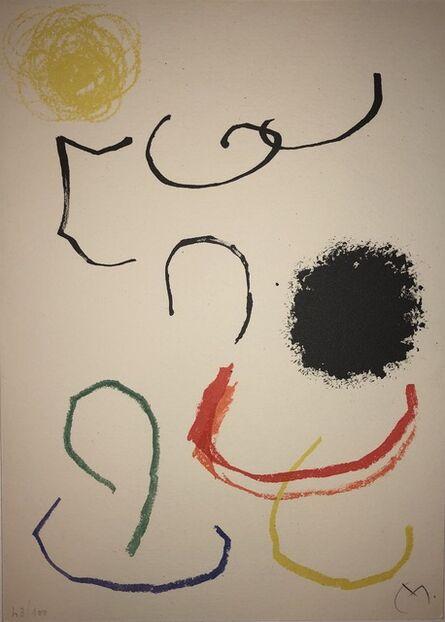 Joan Miró, 'Obra Inedita Recent (plate XI)', 1964