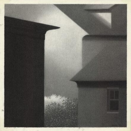 Robert Kipniss, 'Eaves with Dark Window.', 1990
