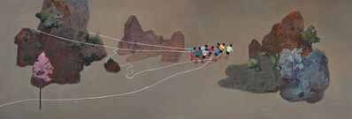 Zhou Jinhua 周金华, 'Moving Mountains 移山', 2018