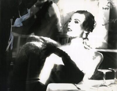 Lillian Bassman, 'Black and White, Mary Jane Russell, Le Pavillon, New York, Harper's Bazaar, April 1950', 1950