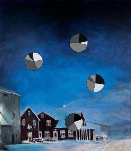 Martin Feldbauer, '6 Km Luft (blue hour)', 2020