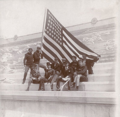 Thomas Pelham Curtis, 'Photograph of the American Olympic Team at the 1896 Athens Olympics', 1896