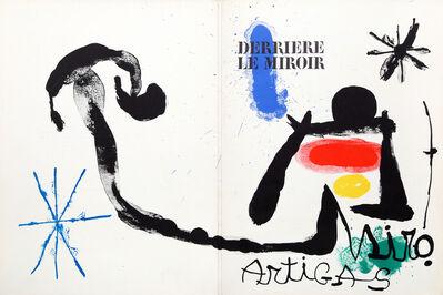 Joan Miró, 'Artigas, cover of Derrière le Miroir ', 1963
