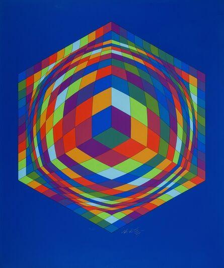 Victor Vasarely, 'Bi-Ga', 1978