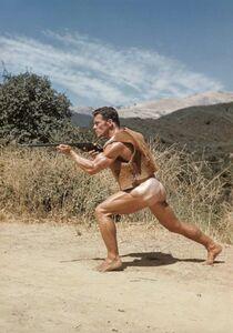 Bob Mizer, 'Bob Moore (in rawhide vest), Southern California', 1963