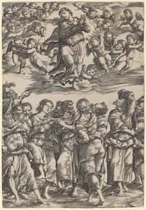 Domenico Campagnola, 'The Assumption of the Virgin', 1517