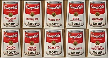 Andy Warhol, 'Campbell's Soup Portfolio I', 1968