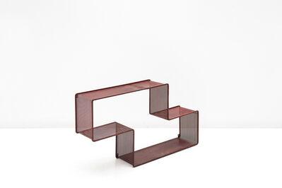 Mathieu Matégot, 'Red Dedal Shelf', ca. 1950