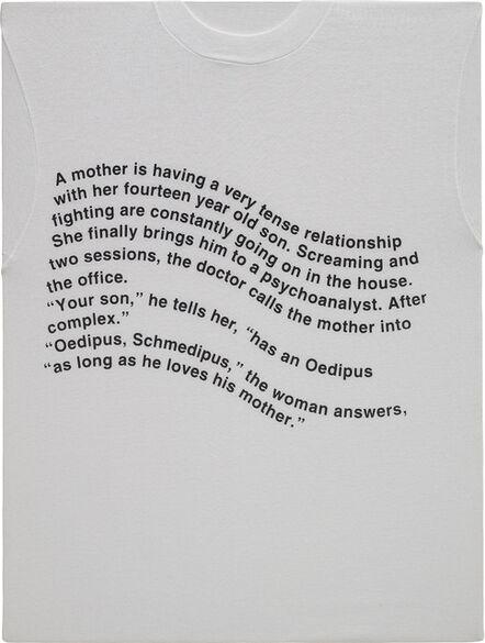 Richard Prince, 'OEDIPUS SCHMEDIPUS', 1994