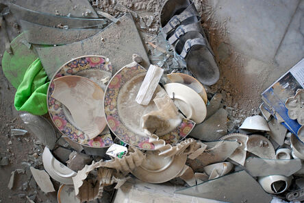 Rania Matar, 'Plates, Beirut', 2006