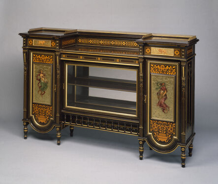 Herter Brothers, 'Cabinet', late 1870s