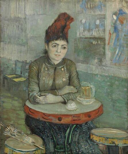 Vincent van Gogh, ' In the Café: Agostina Segatori in Le Tambourin', 1987
