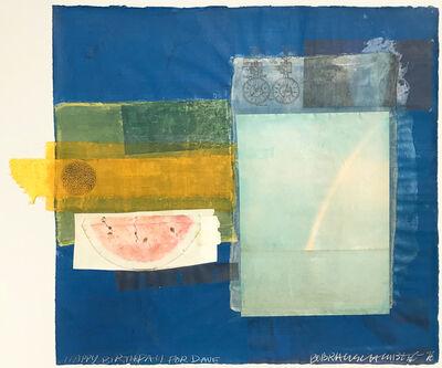 Robert Rauschenberg, 'Untitled (Happy Birthday for Dave)', 1978