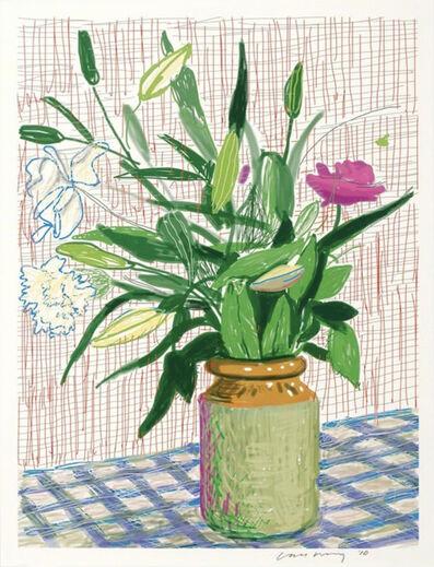 David Hockney, 'Untitled no. 516  from A Bigger Book: Art Edition D', 2016