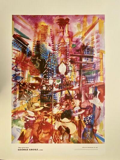 George Grosz, 'George Grosz in Dallas, Flowers of the Prairie, Dallas Museum of Art Poster/Print', 2012