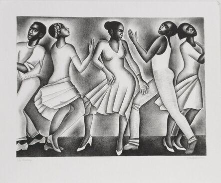 Elizabeth Catlett, 'Dancing', 2003