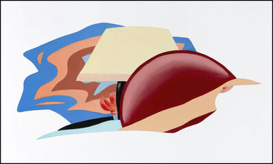 Tom Wesselmann, 'Study for Nude with Bad Abstract Painting', ca. 1984