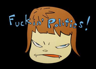 Yoshitomo Nara, 'Fuckin Politics', 2003