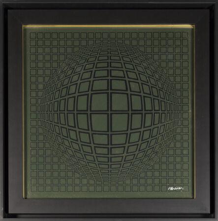 Victor Vasarely, 'Vega - Gold', 1970